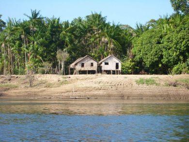 Siedlung am Amazonas