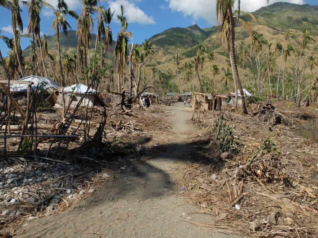 Der Teil von Tiburon, wo vorwiegend ärmere Bauern und Fischer wohnen, wurde am stärksten zerstört.