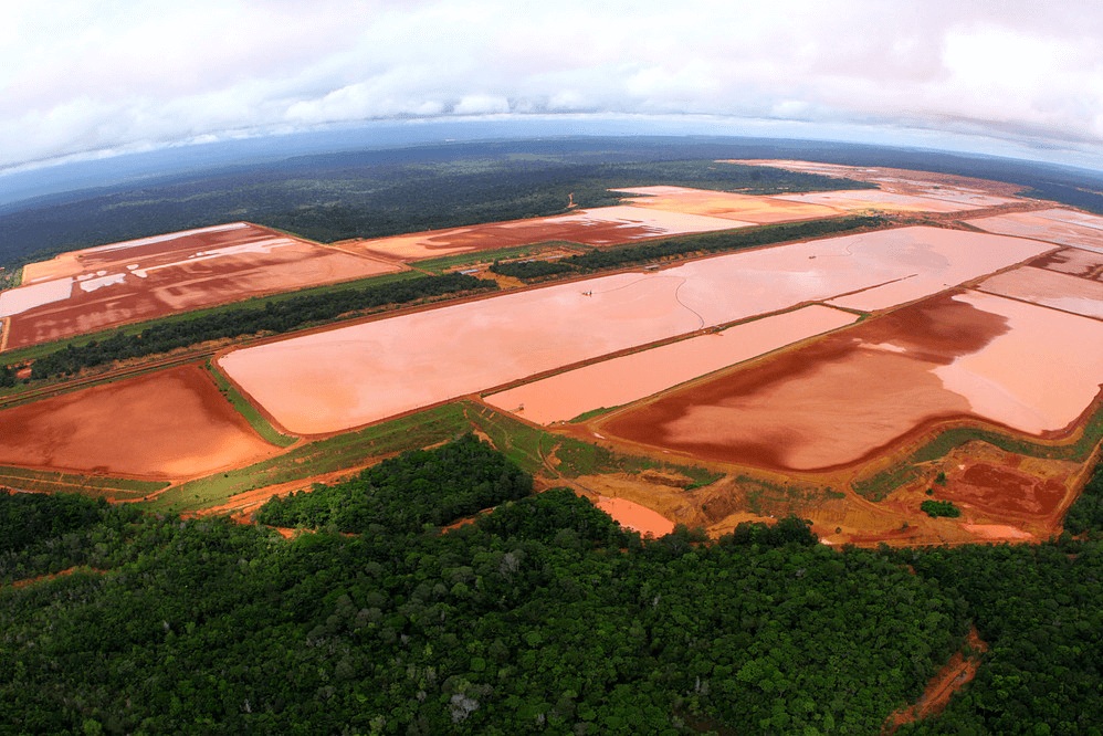 Aber diese Paradiese sind durch den Bauxitabbau bedroht. (© Carlos Penteado CPI-SP)