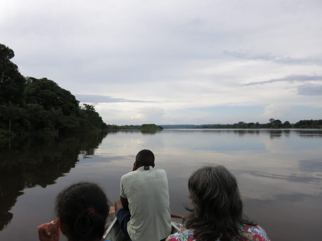Die Quilombolas leben von der Fischerei und der Jagd...