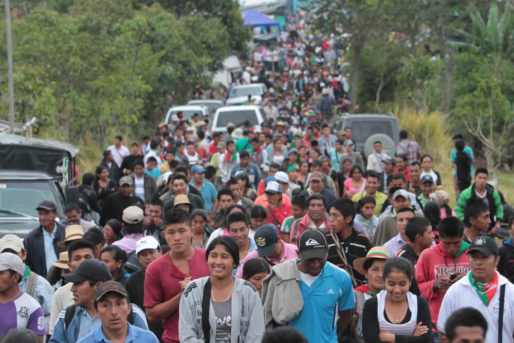CODACOP, Cauca, Kolumbien, Zivilbevölkerung