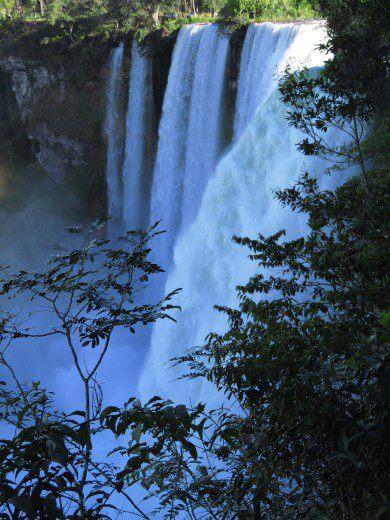 Der Buriti Wasserfall in Brasilien ist bedroht durch ein Wasserkraftwerk.