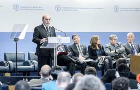 Eröffnungsrede von FAO-Direktor José Graziano da Silva