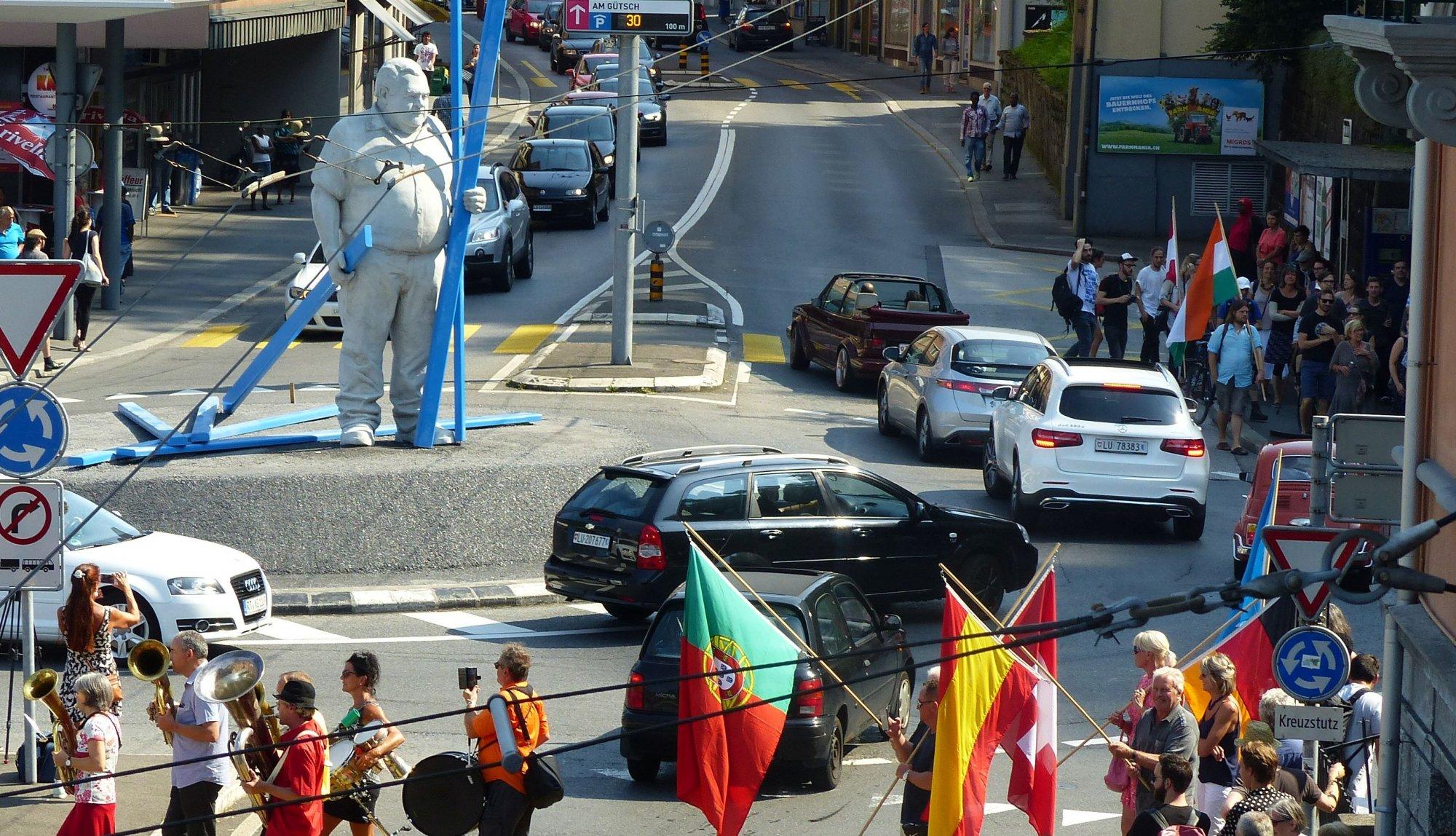 Stadtführung Luzern zur nachhaltigen Quartierentwicklung
