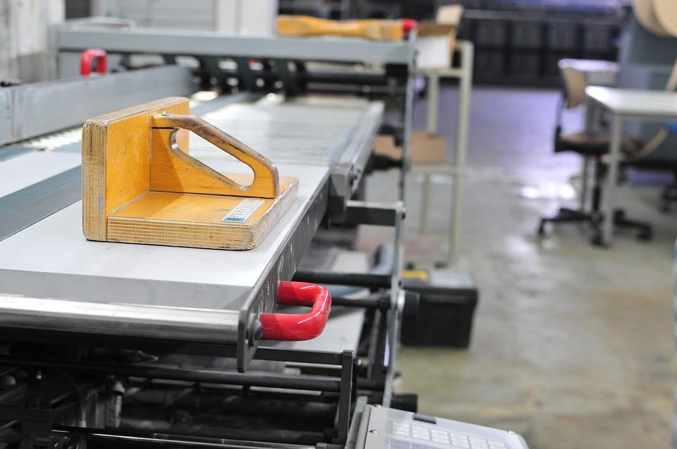 Entstehung Fastenkalender - Druckereibesuch in Derendingen
