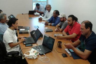 Ein Treffen von Opan und Führungspersönlichkeiten der indigenen Gemeinschaften mit Staatsanwälten (Archiv)