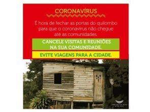 Plakat gegen Covid-19: Bleiben Sie zu Hause