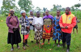 Bäuerinnengruppe im Fastenopfer-Programm Desece in Kenya