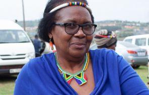 Fikele Ntshangase, südafrikanische Aktivistin