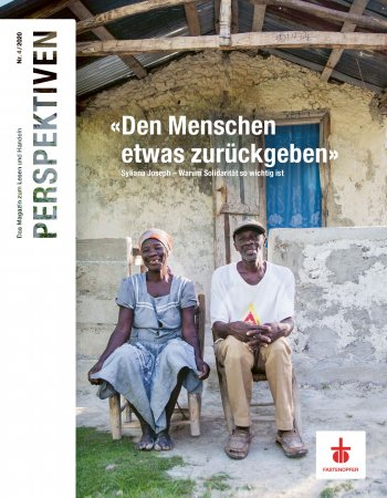 Titelbild Perspektiven 04/2020: Sondernummer Haiti