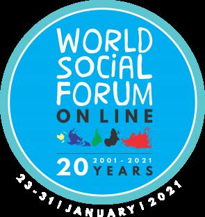 Logo Weltsozialforum 2021