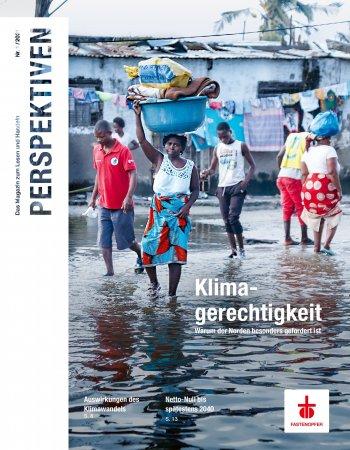 Titel Perspektiven 01/21: Klimagerechtigkeit