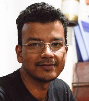 Samrat Katwal ist Koordinator von Fastenopfer für die Projekte in Nepal